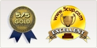 5/5 Gold Award - 5 Cup Excellent