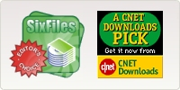 Six Files Editor Choice - CNET Downloads Pick