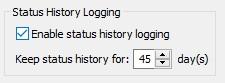 status-history-logging